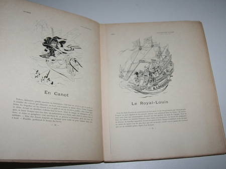 SAHIB - Marins et navires anciens et modernes Croquis humoristiques 1890 / Japon - Photo 4 - livre du XIXe siècle