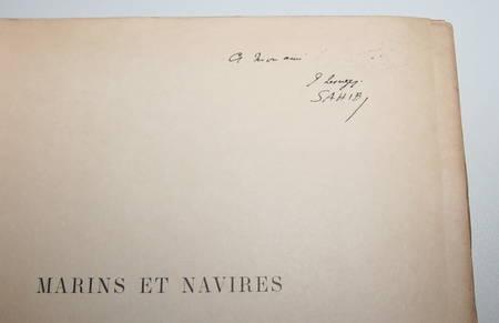 SAHIB - Marins et navires anciens et modernes Croquis humoristiques 1890 / Japon - Photo 5 - livre de collection