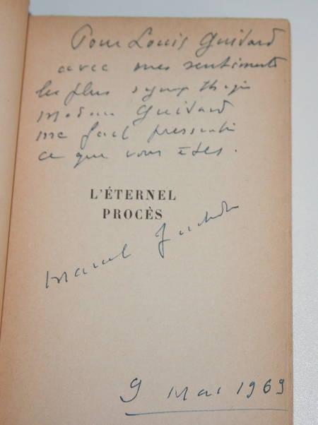 JOUHANDEAU (Marcel). L'éternel procès, livre rare du XXe siècle