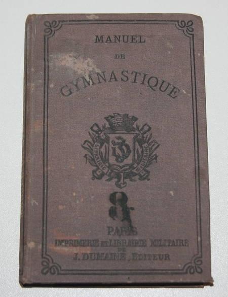 [Militaria] Manuel de gymnastique militaire - 1879 - Régiment de spahis - Photo 1 - livre de bibliophilie