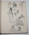 DESCAVES (Lucien) - Barabbas. Paroles dans la vallée -1914 Illustré par Steinlen - Photo 1, livre rare du XXe siècle