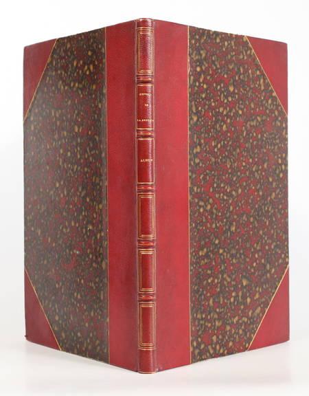 LA BRUYERE, SERVOIS. Album des Oeuvres de La Bruyère. Nouvelle édition par M. G. Servois