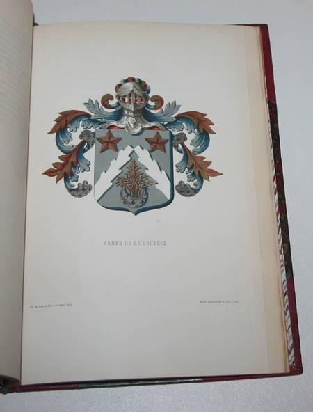 Album des Oeuvres de La Bruyère - Servois - 1882 - Relié - Photo 1 - livre rare