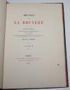 Album des Oeuvres de La Bruyère - Servois - 1882 - Relié - Photo 2 - livre du XIXe siècle