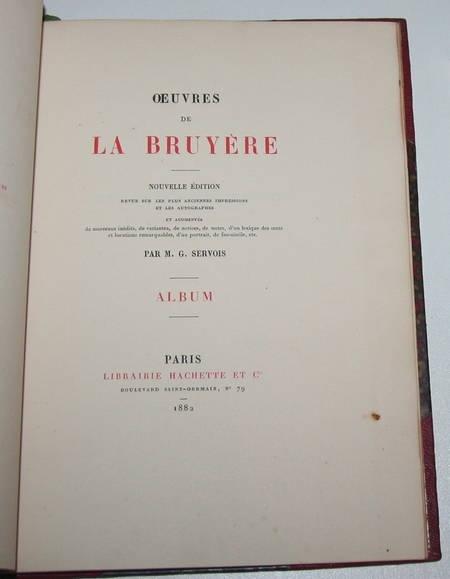 Album des Oeuvres de La Bruyère - Servois - 1882 - Relié - Photo 2 - livre rare