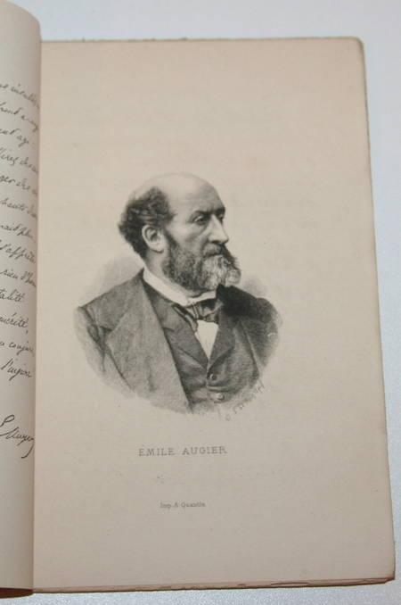 CLARETIE (Jules). Emile Augier. Célébrités contemporaines, livre rare du XIXe siècle
