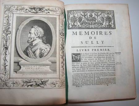 Mémoires de Sully - 3 vol. in-4 - 1745 - EO - Bibliothèque de Lamoignon - Photo 6 - livre rare