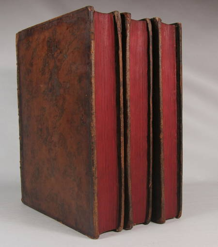 Mémoires de Sully - 3 vol. in-4 - 1745 - EO - Bibliothèque de Lamoignon - Photo 7 - livre rare