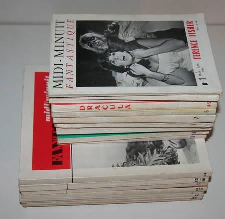 [Cinéma] Midi / Minuit fantastique - collection complète - 1962-1971 - Rare - Photo 1 - livre du XXe siècle