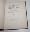 [Marquis des Roys] Paroles royales. Lettres du duc de Guise - 1933 - Photo 1 - livre de bibliophilie