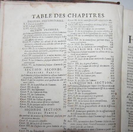 De l'action de Dieu sur les créatures; Prémotion physique par raisonnement 1713 - Photo 2 - livre d'occasion