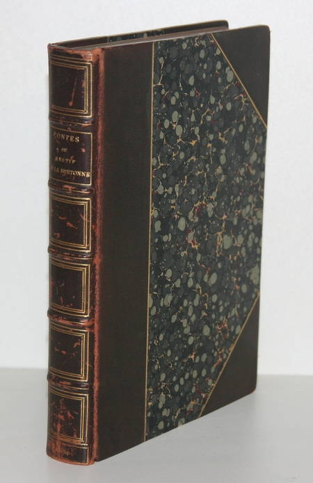 Restif de la Bretonne. Le pied de Fanchette ou le soulier rose - 1881 Avec suite - Photo 1 - livre du XIXe siècle