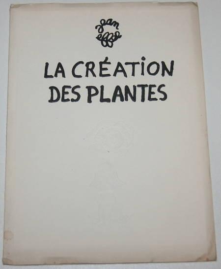Jean Effel - La création des plantes - 1954 - Illustrations - Photo 1 - livre de collection