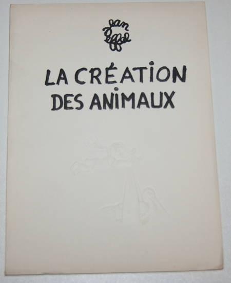 Jean Effel - La création des animaux - 1955 - Illustrations - Photo 1 - livre d'occasion