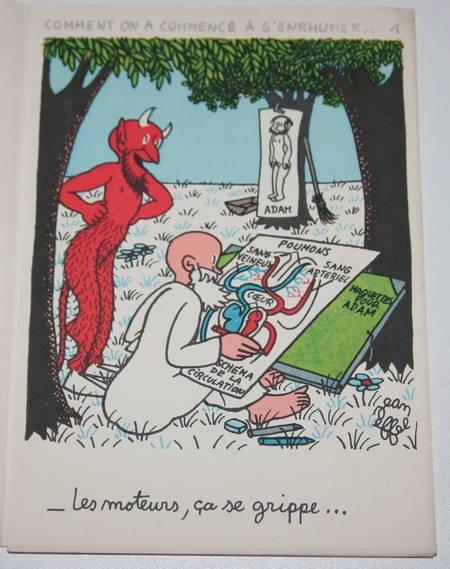 Jean Effel - Comment on a commencé à s enrhumer ... en 12 images - 1960 - Photo 1, livre rare du XXe siècle