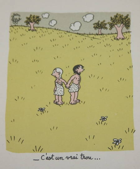 Paradis perdu de Jean Effel - 12 planches en couleurs - Photo 0 - livre moderne