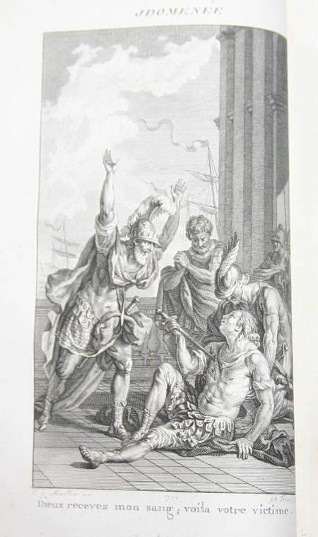 Oeuvres de Crébillon - 3 volumes reliés - 1812 - Gravures de Marillier - Photo 2 - livre du XIXe siècle