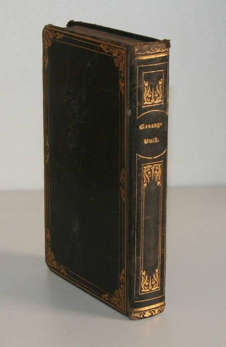 Gesangbuch - Strasbourg - 1808 - Intéressante reliure datée de 1845 - Photo 2 - livre d occasion