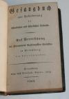 Gesangbuch - Strasbourg - 1808 - Intéressante reliure datée de 1845 - Photo 3 - livre d occasion