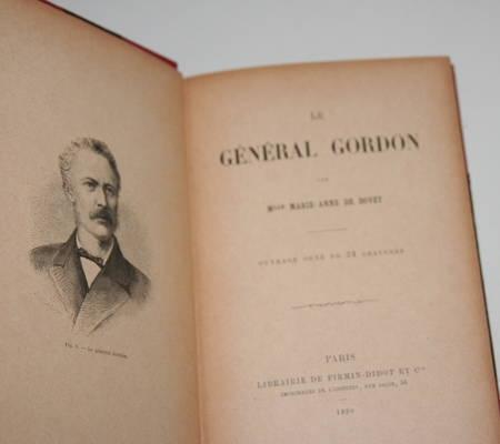 [Voyages] Bovet - Le général Gordon - Firmin-Didot - 1890 - Relié - Gravures - Photo 2, livre rare du XIXe siècle