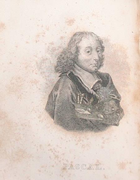 Les pensées de Blaise Pascal - 1824 - 2 petits formats - curieux collage - Photo 2 - livre rare