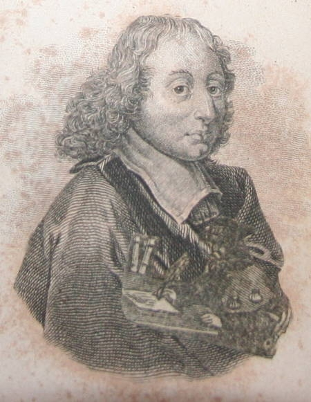 Les pensées de Blaise Pascal - 1824 - 2 petits formats - curieux collage - Photo 3 - livre rare