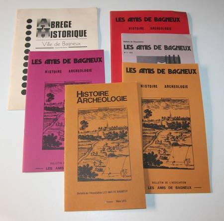 Bulletin de la Société les Amis de Bagneux - 1973 - 1977 - Photo 0 - livre d'occasion