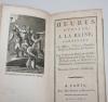Heures dédiées à la Reine - 1786 - Gravures - Gros caractères - Photo 0 - livre d occasion