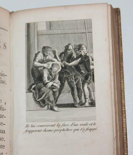 Heures dédiées à la Reine - 1786 - Gravures - Gros caractères - Photo 3 - livre d'occasion