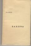 [Saxons en Normandie Antiquité] LELIEVRE (Léon) - Saxons - Photo 1, livre rare du XXe siècle