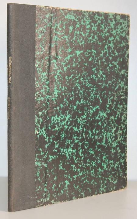 Programmes de l enseignement intérieur de l école impériale polytechnique - 1868 - Photo 1, livre rare du XIXe siècle