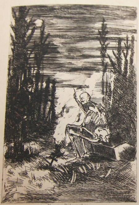 La chanson des gueux + Pièces supprimées - 1885 - Eaux fortes de Ridouard - Photo 0 - livre du XIXe siècle