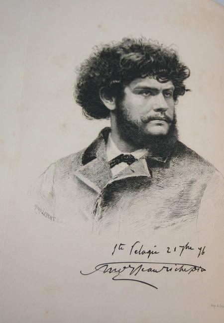 La chanson des gueux + Pièces supprimées - 1885 - Eaux fortes de Ridouard - Photo 1 - livre rare