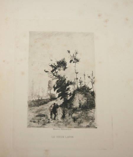 La chanson des gueux + Pièces supprimées - 1885 - Eaux fortes de Ridouard - Photo 3 - livre rare