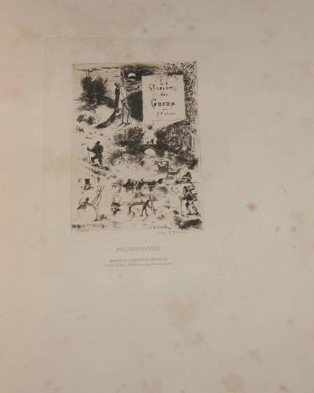 La chanson des gueux + Pièces supprimées - 1885 - Eaux fortes de Ridouard - Photo 5 - livre rare
