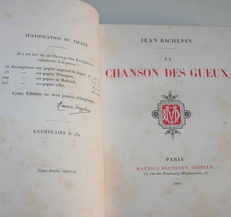La chanson des gueux + Pièces supprimées - 1885 - Eaux fortes de Ridouard - Photo 6 - livre rare