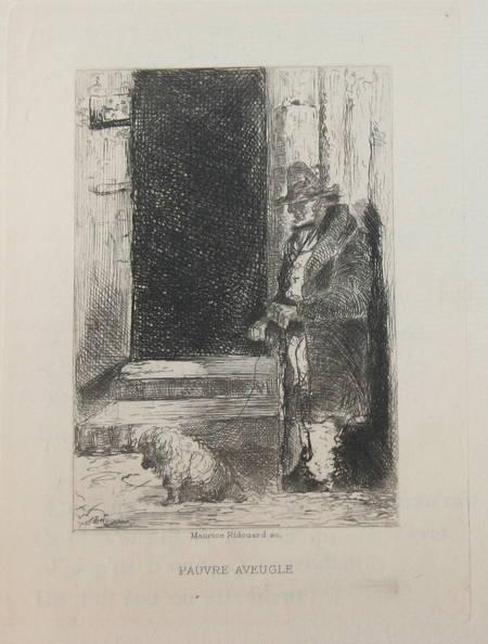 La chanson des gueux + Pièces supprimées - 1885 - Eaux fortes de Ridouard - Photo 7 - livre de bibliophilie