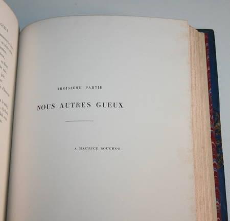 La chanson des gueux + Pièces supprimées - 1885 - Eaux fortes de Ridouard - Photo 8 - livre du XIXe siècle
