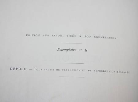 LEFORT (Paul) - Velazquez - 1888 - Exemplaire sur Japon - Photo 1 - livre de bibliophilie