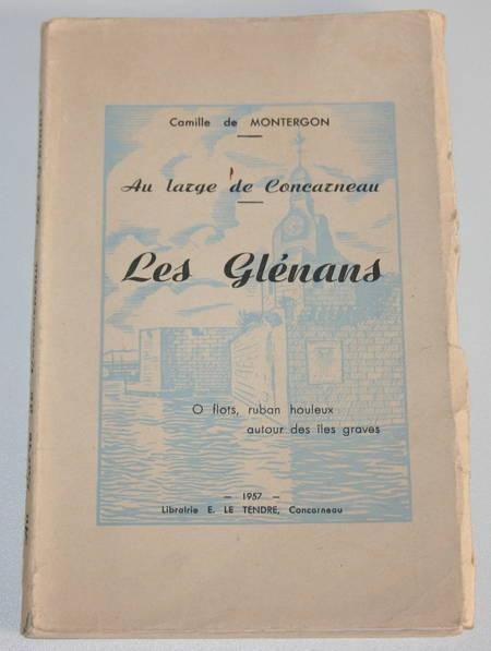 MONTERGON (Camille de). Au large de Concarneau. Les Glénans