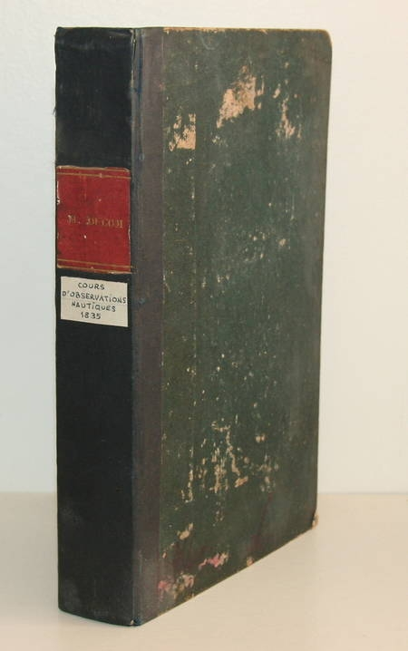[Marine] Ducom - Cours complet d'observations nautiques 1835 - Photo 1 - livre d'occasion