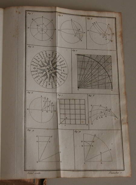 [Marine] Ducom - Cours complet d'observations nautiques 1835 - Photo 2 - livre d'occasion