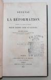 Défense de la réformation contre les préjugés contre les calvinistes - 1844 - Photo 1, livre rare du XIXe siècle
