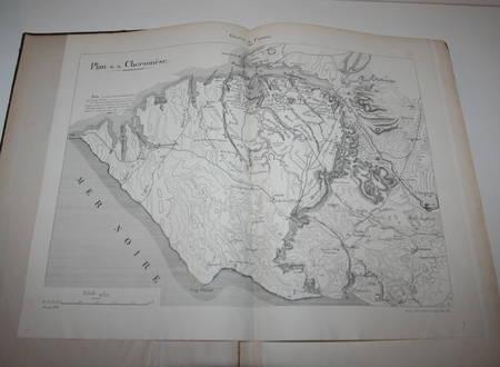 ATLAS de l'Ecole supérieure de GUERRE - 1880-1881 - Relié - Photo 1 - livre rare