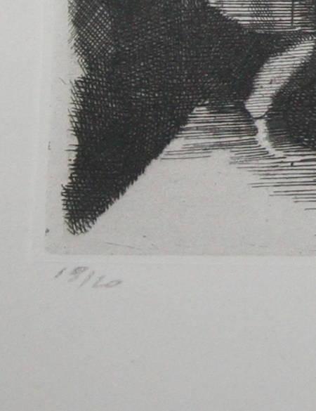 Cahiers de la loggia - 1945 - Eau-forte de Yves Alix - 1/20 - Photo 2, livre rare du XXe siècle