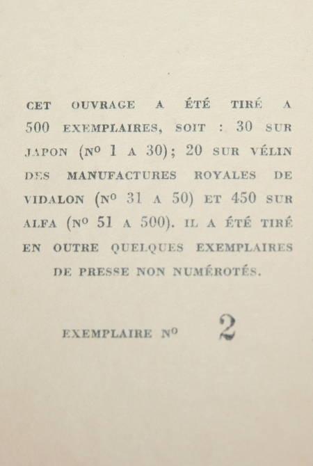 PASQUIER (Abbé Emile) et DAUPHIN (Victor). Imprimeurs et libraires de l'Anjou, livre rare du XXe siècle