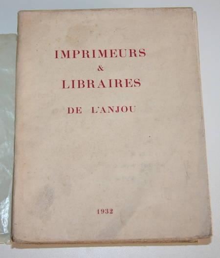 Imprimeurs et libraires de l'Anjou - Ex / Japon - Envoi - Photo 1 - livre rare
