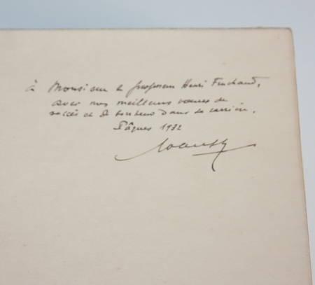 PASQUIER et DAUPHIN - Imprimeurs et libraires de l Anjou - 1932 Envoi sur Japon - Photo 2 - livre du XXe siècle