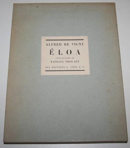 VIGNY - Eloa ou la soeur des anges - 1928 lithographies Raphaël Drouart - Photo 1 - livre de bibliophilie