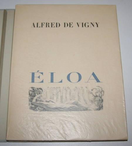 VIGNY - Eloa ou la soeur des anges - 1928 lithographies Raphaël Drouart - Photo 2 - livre de bibliophilie